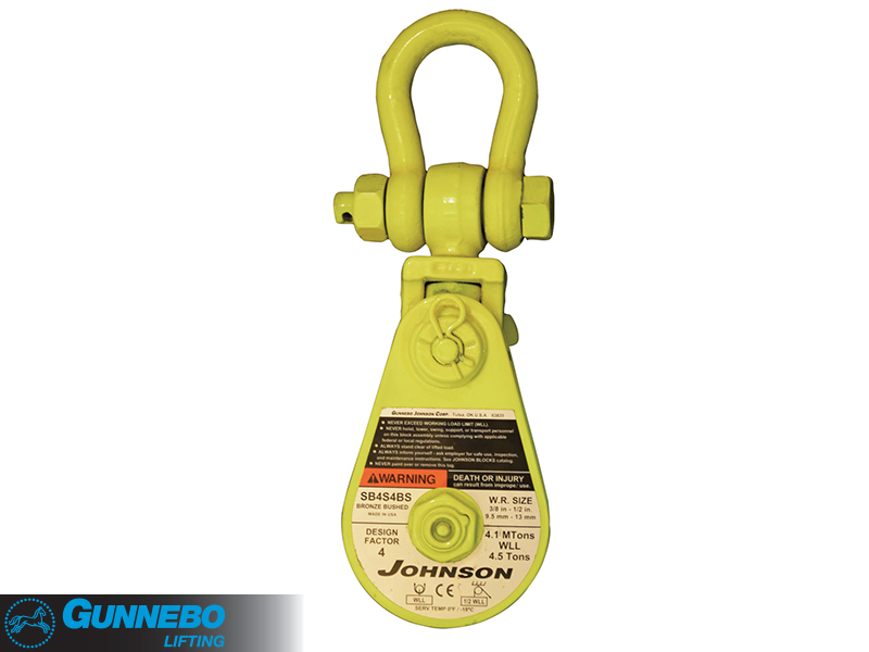 Johnson Snatch Block with Shackle