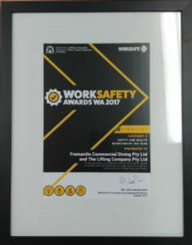 worksafety 8 Winner of the WorkSafety Invention of the Year 2017