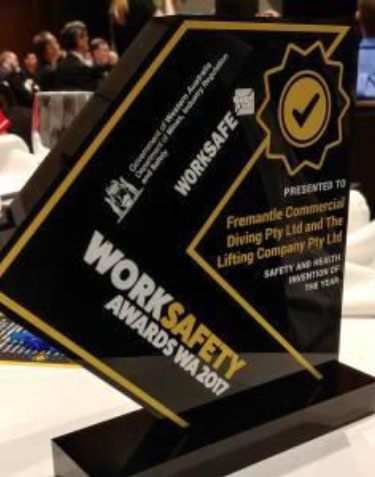 worksafety 9 Winner of the WorkSafety Invention of the Year 2017