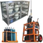 Gas Cylinder Cages and Trolleys