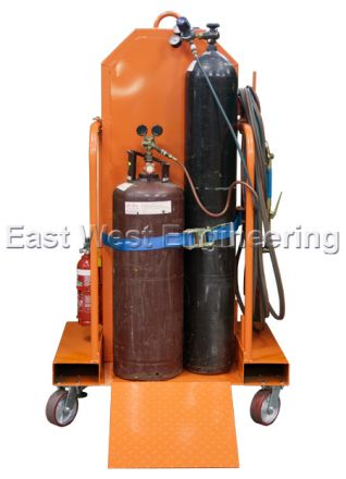 TGC4 Gas Cylinder Trolley (4 Bottles) Craneable