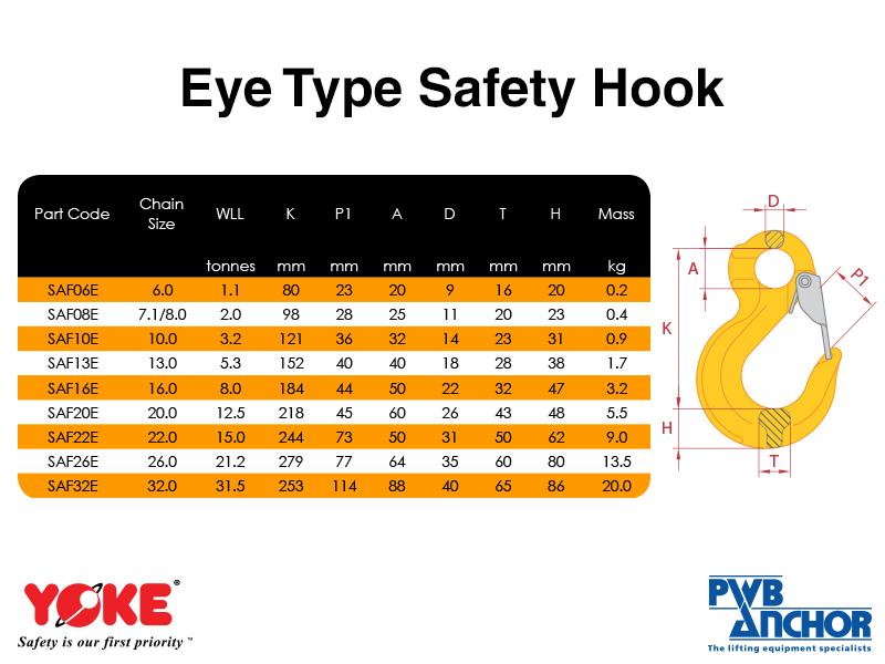 Safety Hook (Eye type)