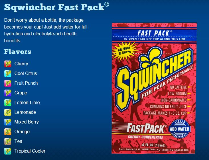 Sqwincher Fast Pack