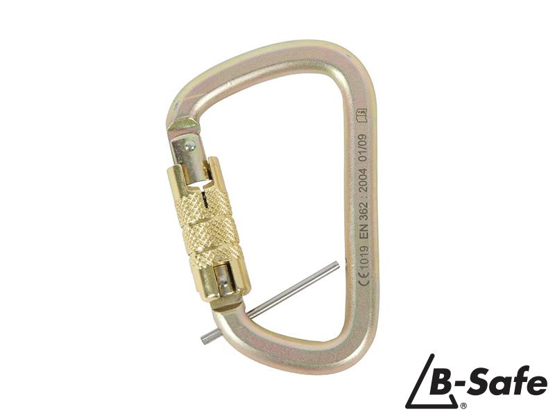 Triple Action Karabiner w/ Captive Pin