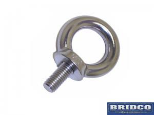 Eyebolt - Stainless Steel - Load Rated | Lifting Equipment | Forklift Equipment | The Lifting Company