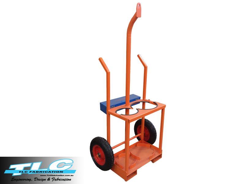 Oxy / Acetylene Gas Bottle Trolley