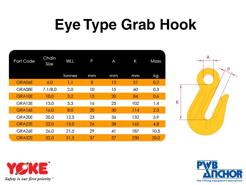 Grab Hook (Eye type)