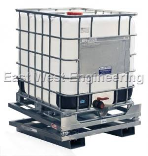 BTS10 IBC Bin Tilter 10 Degrees | Lifting Equipment | Forklift Equipment | The Lifting Company