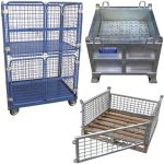 Storage Cages, Boxes and Trolleys