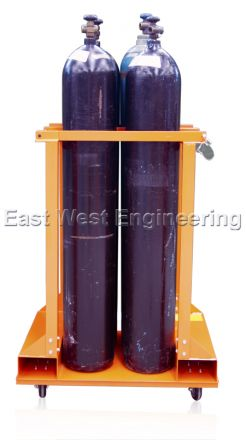 TST4 Gas Cylinder Trolley (4 Bottles)