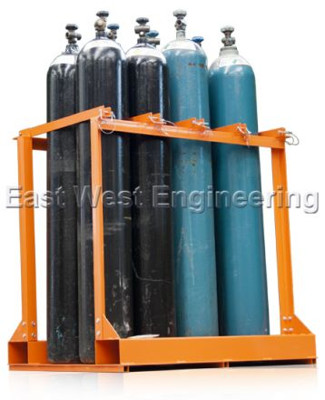 TST8 Gas Cylinder Storage Rack (8 Bottles)
