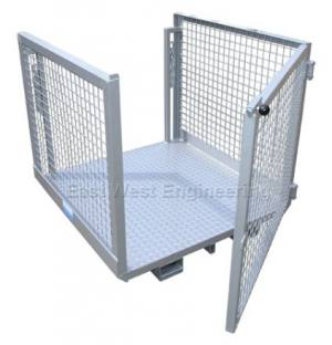 WP-OPG Order Picker Platform + Gate | Lifting Equipment | Forklift Equipment | The Lifting Company